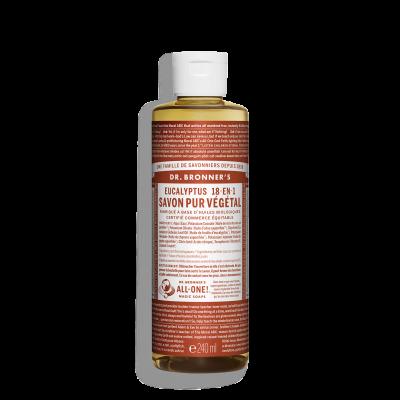 Savon Liquide Végétal - Eucalyptus - 240 ml