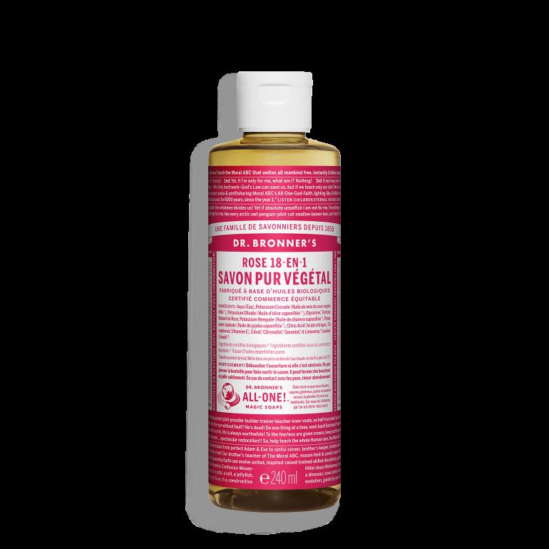 Savon Liquide Végétal - Rose - 240 ml