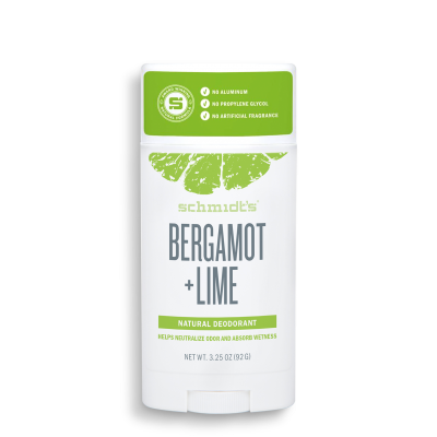 Déodorant stick naturel - Bergamote + Lime