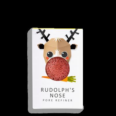 Mini Eponge Noël Rudolph Argile Rouge