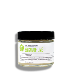 Déodorant naturel - bergamot + lime