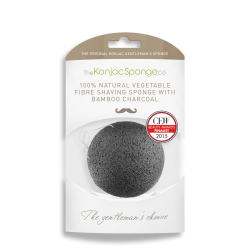 Konjac With Added Bamboo Charcoal Sponge Puff