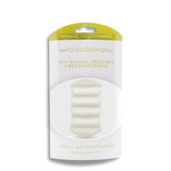 Deluxe 6 Wave Body Sponge 100% Pure Konjac