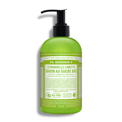 Lemongrass Lime Organic Pump Soap