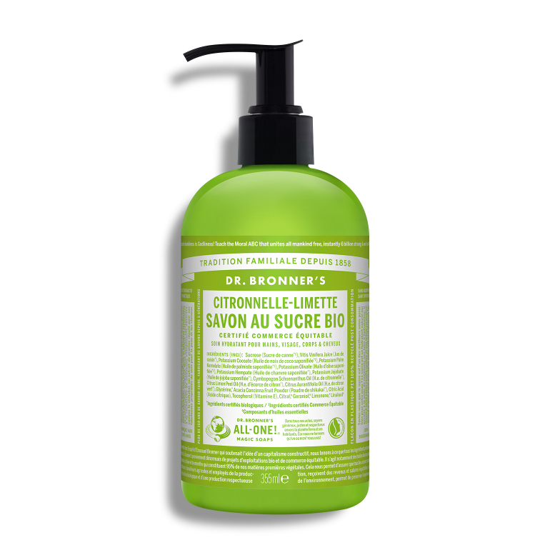 Lemongrass Lime Organic Pump Soap