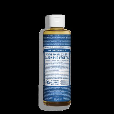 Savon Liquide Végétal - Menthe Poivrée - 240 ml