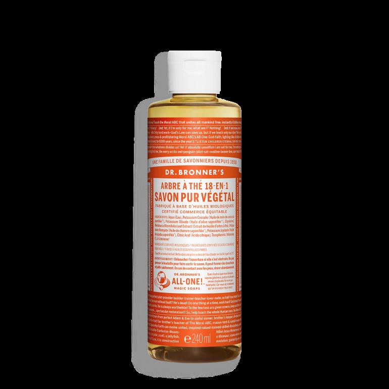 Savon Liquide Végétal - Tea Tree - 240 ml