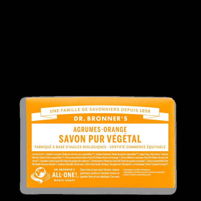 Barre de savon Agrume et orange