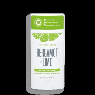 Déodorant stick naturel - Bergamote + Lime
