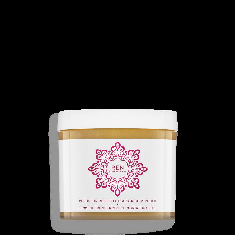 Moroccan rose otto sugar : Exfoliant corps