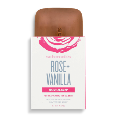 Savon 100% naturel - Rose + Vanille