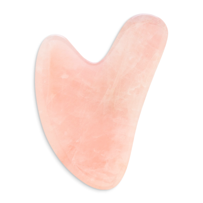 Outil de massage Gua Sha Quartz Rose