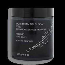 Savon Noir Marocain Beldi à la Rose