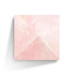 Pyramide Rose Quartz
