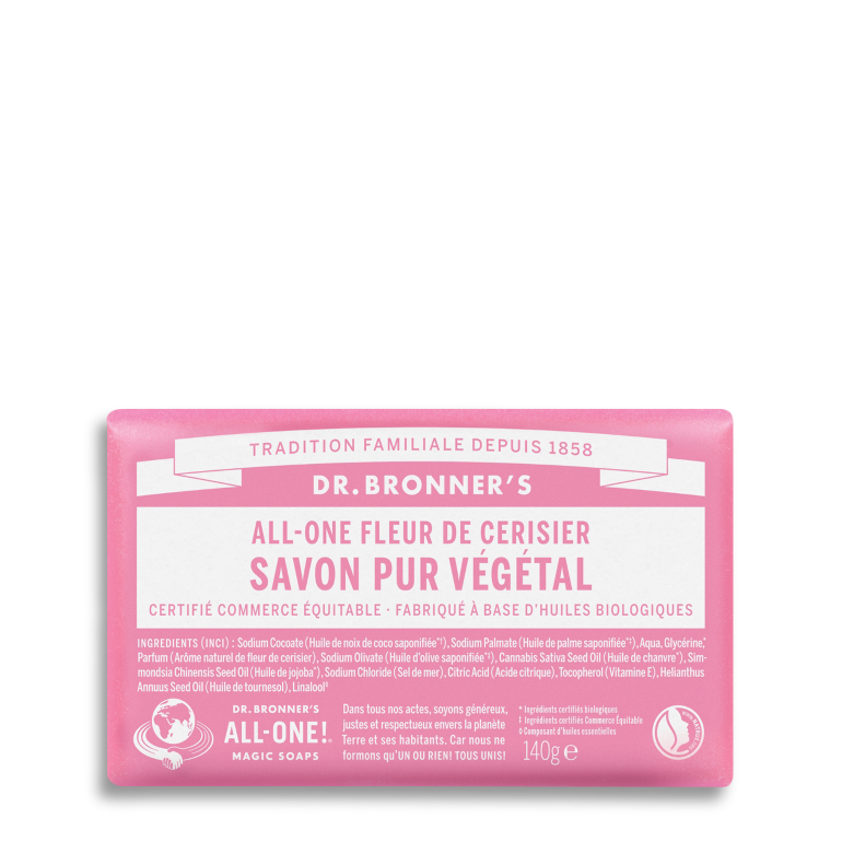 Cherry Blossom Organic Bar Soap
