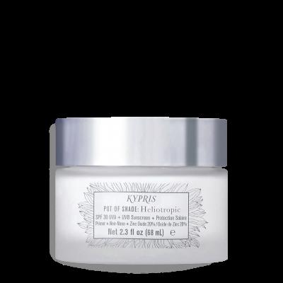 Crème solaire et base teint SPF30 Pot of Shade: Heliotropic