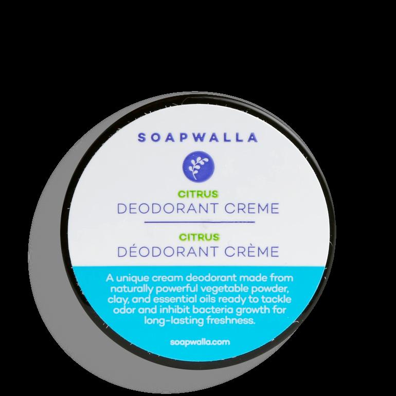 Déodorant bio crème Citrus