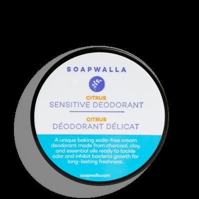 Sensitive Skin Deodorant Cream - Citrus