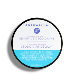 Sensitive Skin Deodorant Cream - Lavender Mint