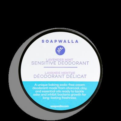 Sensitive Skin Deodorant Cream - Lavender Mint