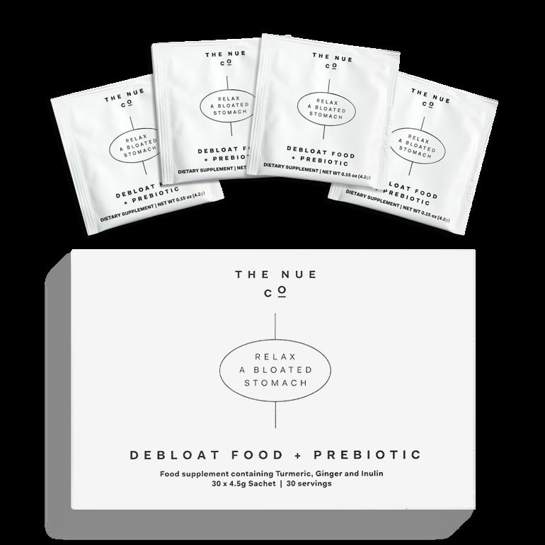 Debloat Food + Prebiotic Sachets