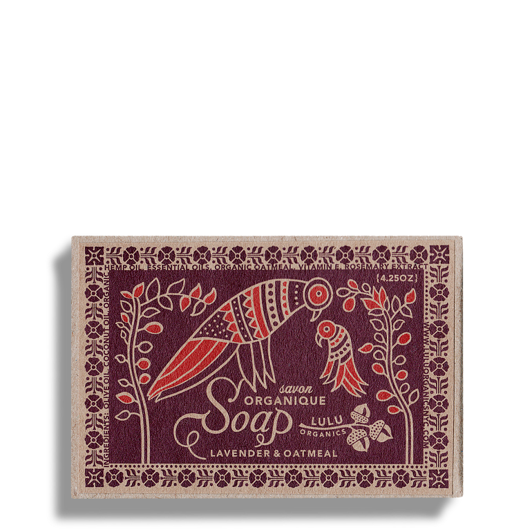 Lavander and oatmeal Soap