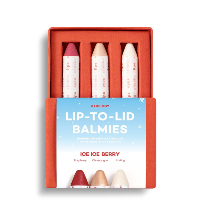 Ice Ice Berry Lip to Lid Balmies Set