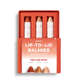 Fire & Spice Lip to Lid Balmies Set