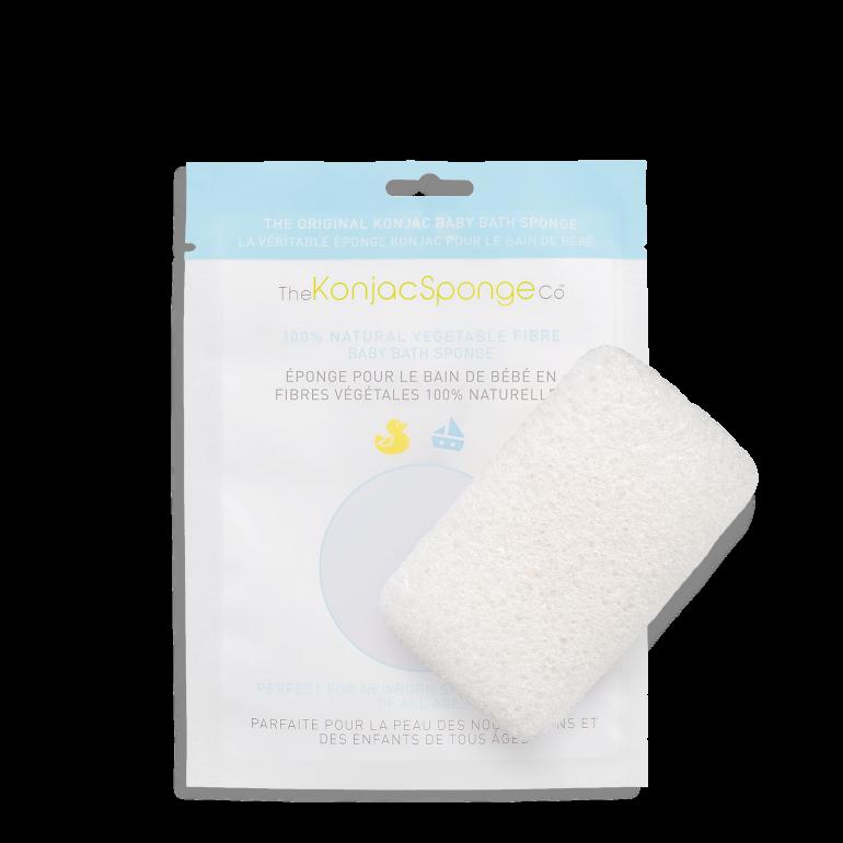Eponge Konjac Corps pour bébé