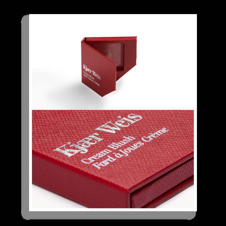 Boîtier Red Edition - Fard à joues crème