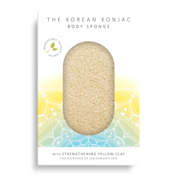 Yellow Clay Bath Sponge