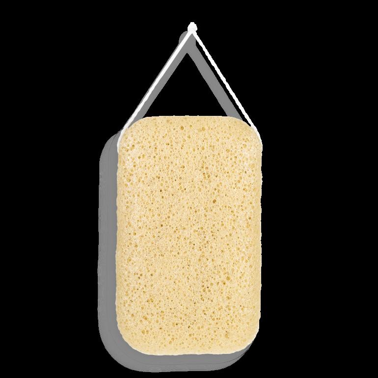 Yellow Clay Bath Sponge