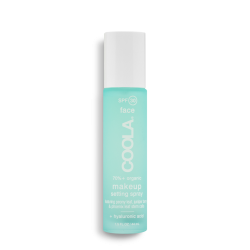 Spray fixation maquillage SPF30