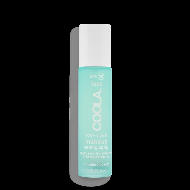 Spray fixation maquillage SPF30