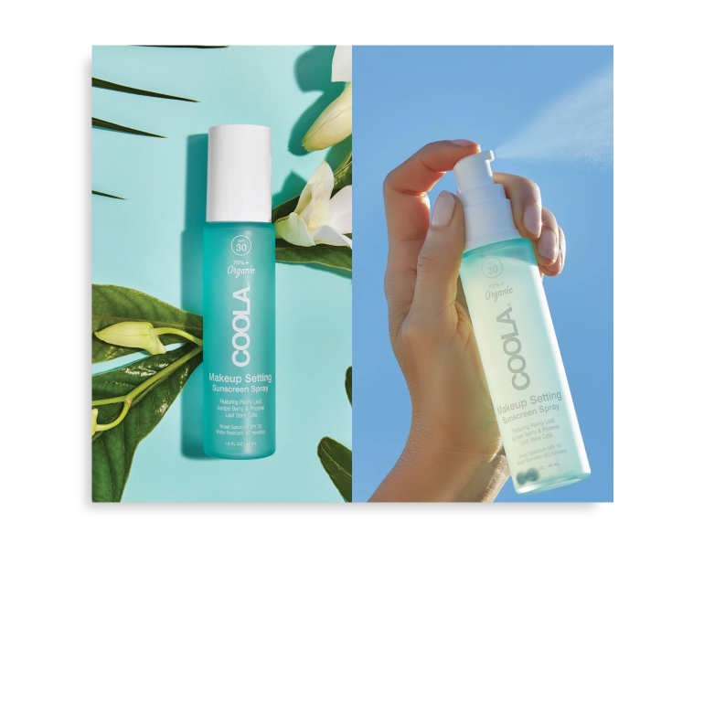SPF 30 Organic Makeup Setting Spray