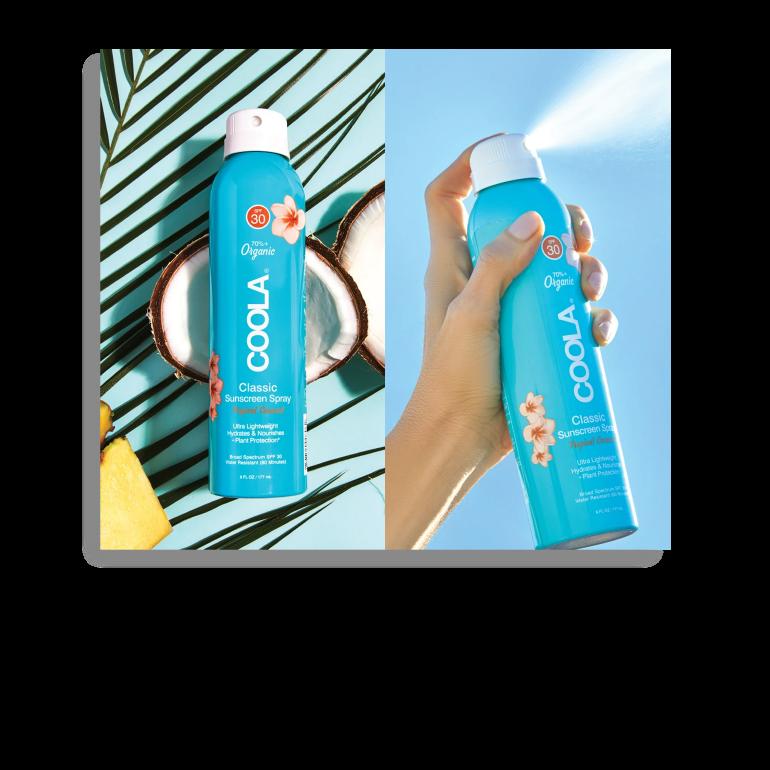 Spray solaire SPF 30 aux Agrumes et Mimosa
