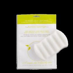 6 Wave Body Sponge 100% Pure Konjac