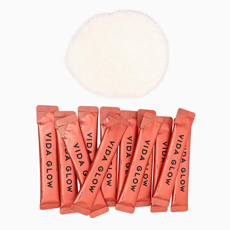Peach Natural Marine Collagen