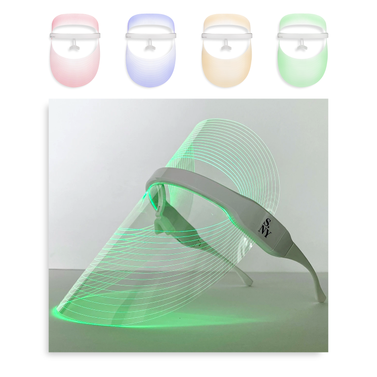 How To Glow - LED light therapy face mask