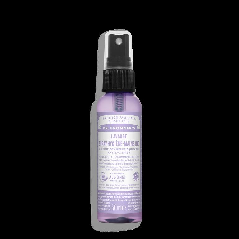 Spray désinfectant bio mains