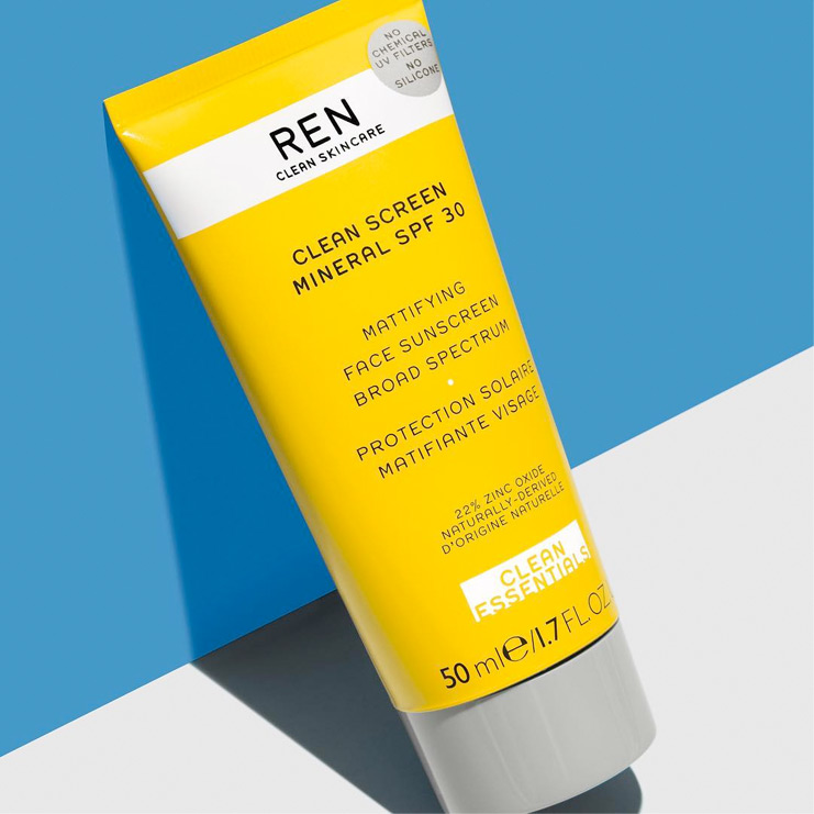 Clean Screen SPF 30 Protection Solaire Visage - REN SKINCARE