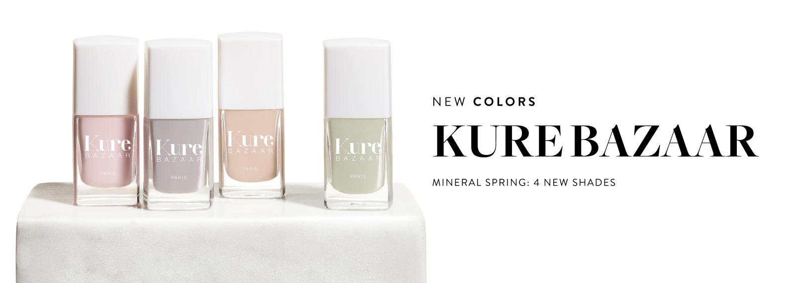 New - KURE BAZAAR - Spring Colors