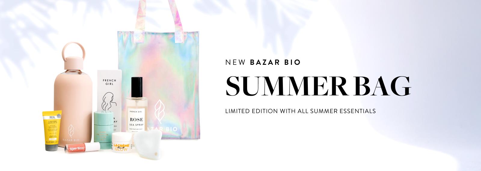 BAZAR BIO SUMMER BAG - 2021 LIMITED EDITION