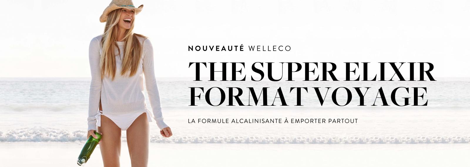 Nouveauté WELLECO - Super Elixir Format Voyage