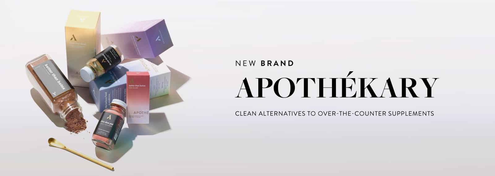 New Brand - APOTHÉKARY