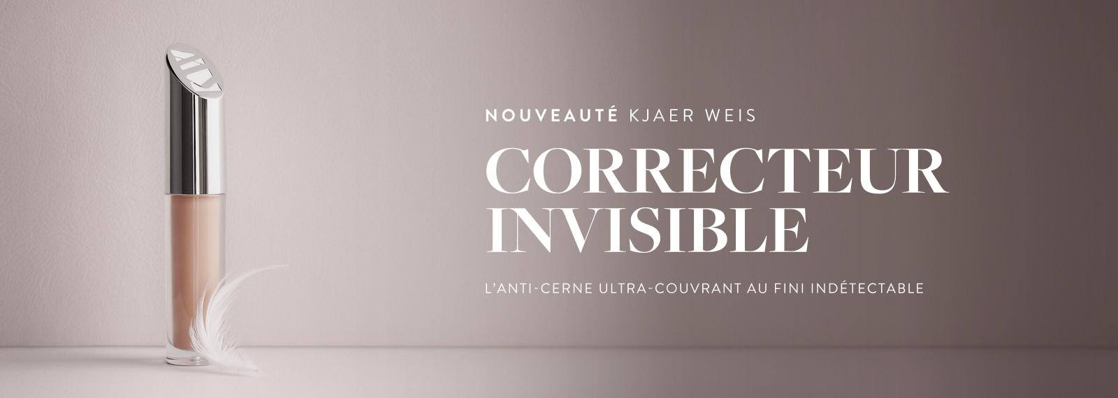 Nouveautés - KJAER WEIS - Correcteur Invisible