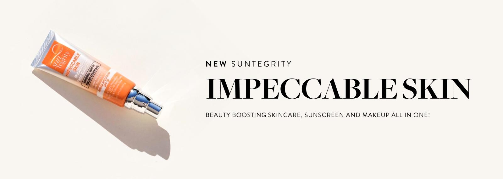 New - SUNTEGRITY - Impeccable Skin